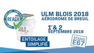 ULM à la fête et à la vente à l'aérodrome de Blois
