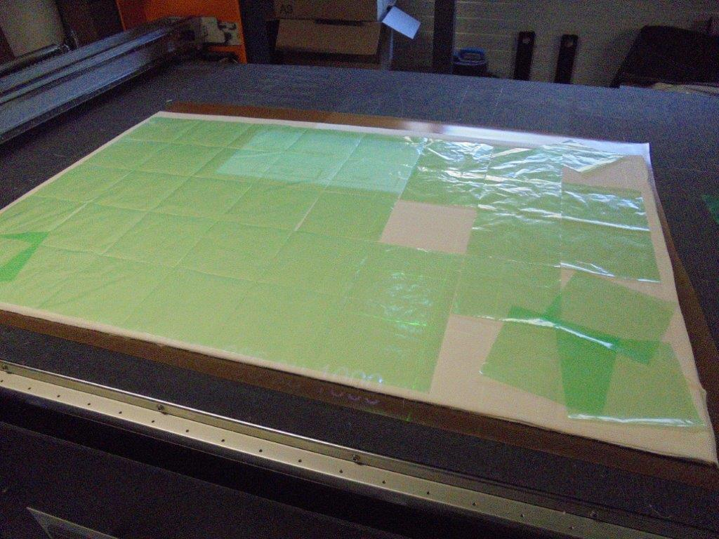 Cutting fabric for masks